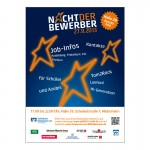 Volksbank Hildesheim Nacht der Berwerber Plakat