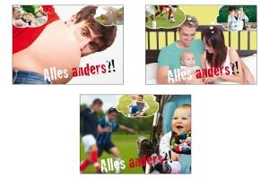 Ehe-, Familien- und Lebensberatung Postkartenserie