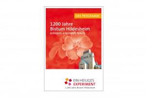 1200 Jahre Bistum Hildesheim Programmbroschüre