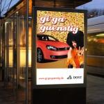 Dost Automobile Citylight Außenwerbung