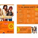 Dost Automobile Plakat, Getränkekarte, Eintrittskarte